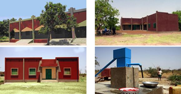 Classrooms Building Secondary School; Workshops Building Secondary School; Administration and Offices Building Secondary School; Secondary School Well