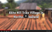 Akha Hill Tribe Village in Northern Thailand
