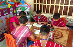 School Library in Mae Phon Village