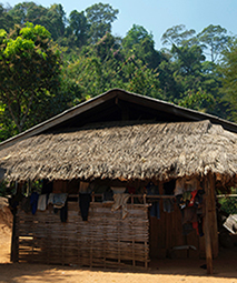 Hill Tribe Village Home