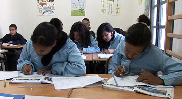 Morocco Back to School Project was born out of the need to reinsert school drop out street children into the public school system.