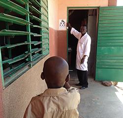Medical Check-up at Nibagdo school