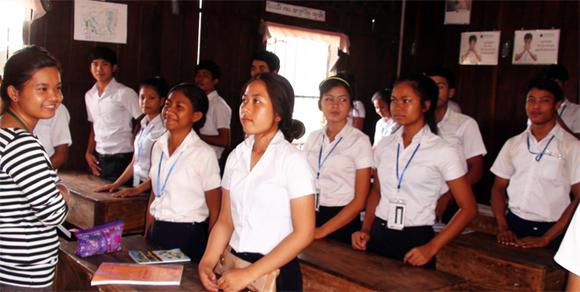 PHNOM PENH, CAMBODIA Back to School Project