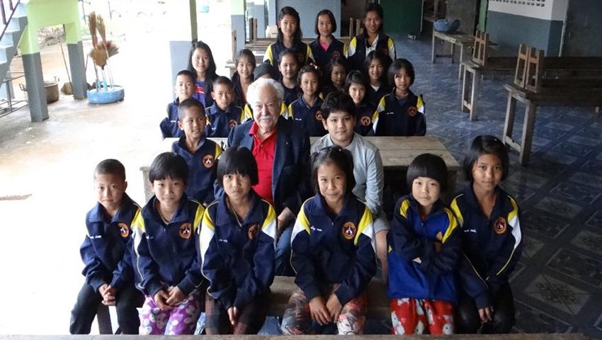 Pasquale Pistorio visiting Thailand