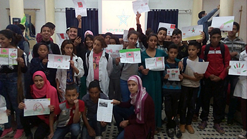 Based on the excellent results and positive impact our program has had on the lives of many children and the local community, we received the compliments of the Moroccan Minister of Education. It recognized our center as the most successful Non Formal Education program rolled out in the country.