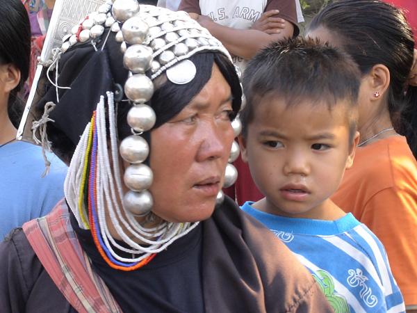 Aka Woman with Costume