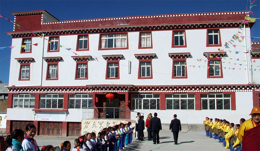 Dormitory in School Campus of Lithang, built by the Foundation in 2006
