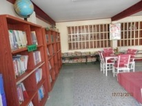 Library on the ground floor