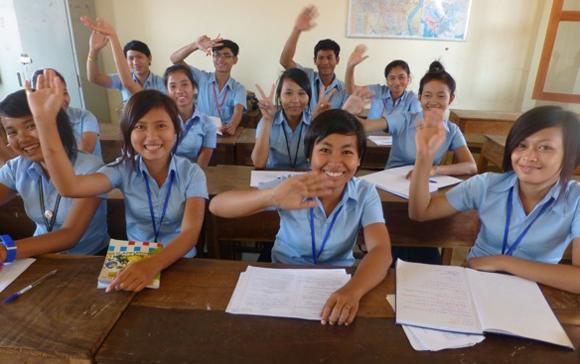 Phon Pen School Class