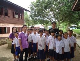 Students at the Mae Ha Pai School in Pha Taek Village