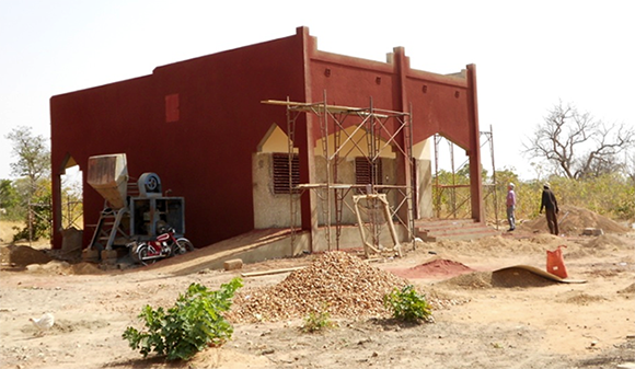 New classroom built at the secondary school in Sogpelce'