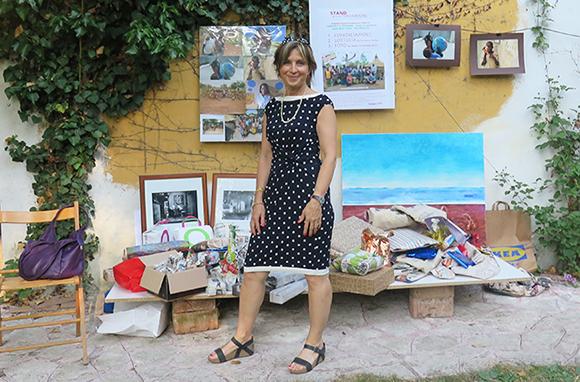 """Silvia Reggiani host of the """"Lotteria tra Amici"""" in Modena"""