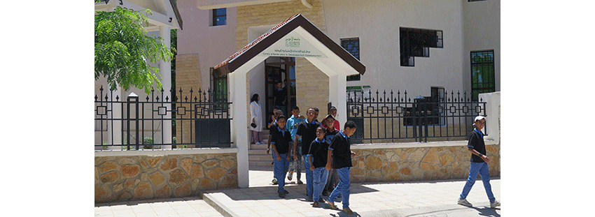 The Non Formal Education and Vocational Training Center co funded by the Foundation in 2013