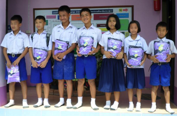 Distribution of Sports Uniforms