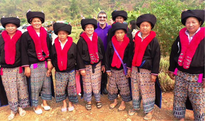 Women of Huay Kuk Village from the Hmong Hill Tribe