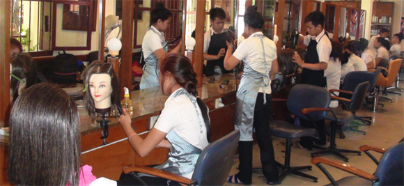 Hair Styling and Spa School