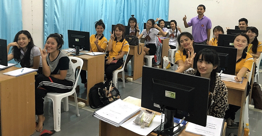New Informatics class set up with the support of the STMicroelectronics Foundation