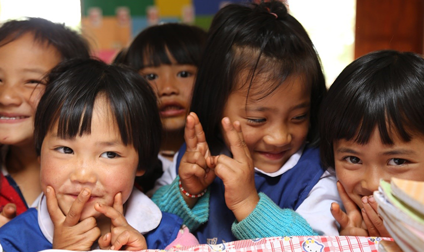 Nursery School Children in Ban Mhai Pattanà